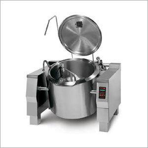 Tilting Steam Kettle(Gas-Electric)