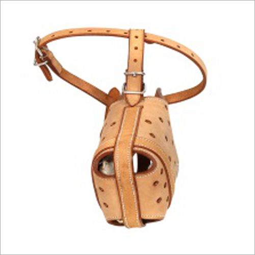 Dog Leather Muzzle