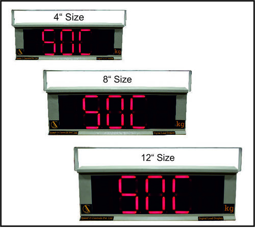 Jumbo Digital Load Display for Load Cell