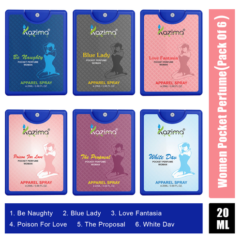 KAZIMA Pocket Perfume for Women 20ML (12 hours Long Lasting)