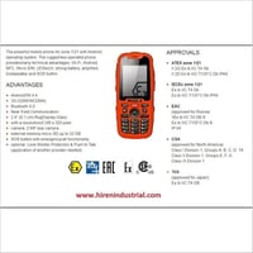 Intrinsically Safe Mobile Phones For Hazardous Area