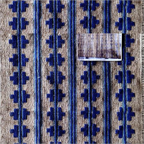 Embroidered Kilim Rug