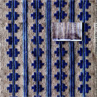 Embroidered Kilim Rug