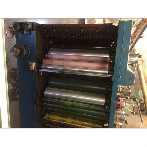 Three Colour Offset Printing Machine