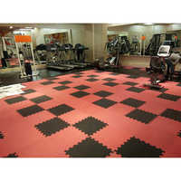 Interlocking Gym Flooring Colour