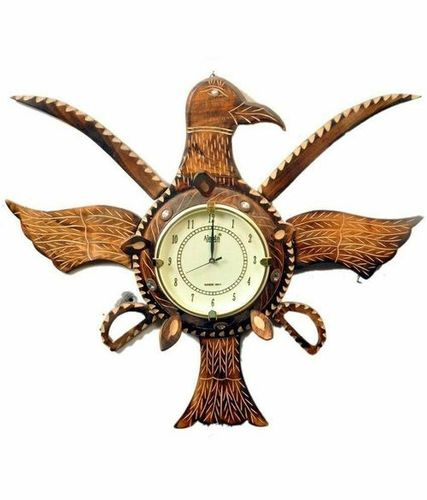 Wooden Handicraft Wall Clock