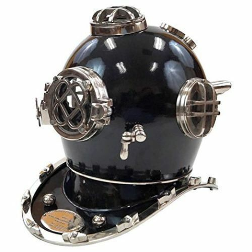 Antique US navy Mark Divers Diving Helmet Deep Sea Marine Diving Helmet