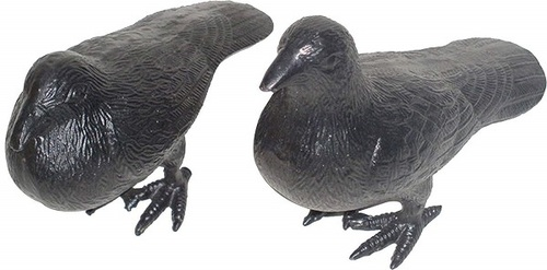 Garden Decorative Pigeon Statue Pair