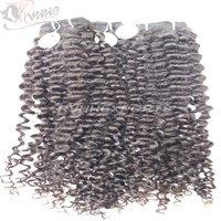100% Direct Curly Natural Virgin Human Hair Extension Bundles