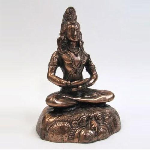 Aluminum Statue Shankar Sitting