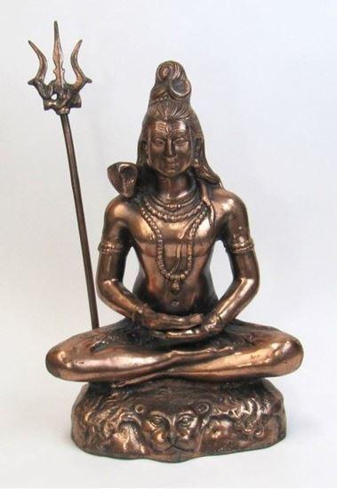 Aluminum Shankar Statue