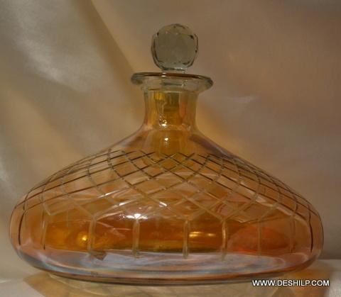 Colorful Glass Perfume Decanter