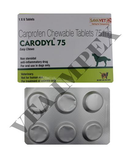 CARODYL 75 (6 TABS)-CARPROFEN 75 MG
