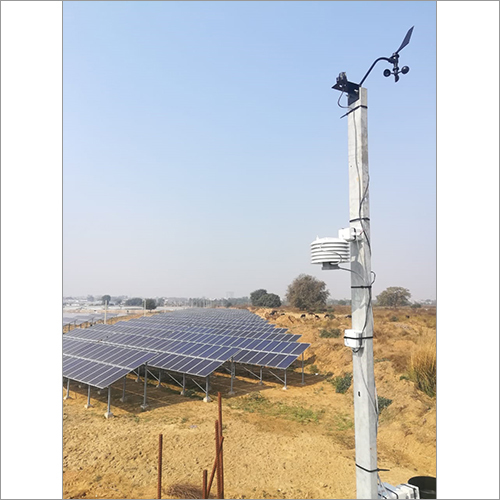Outdoor Solar Powered Automatic Weather Station