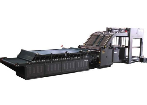 Automatic Flute Laminating Machine , Corrugated Cardboard Auto Flute Laminator