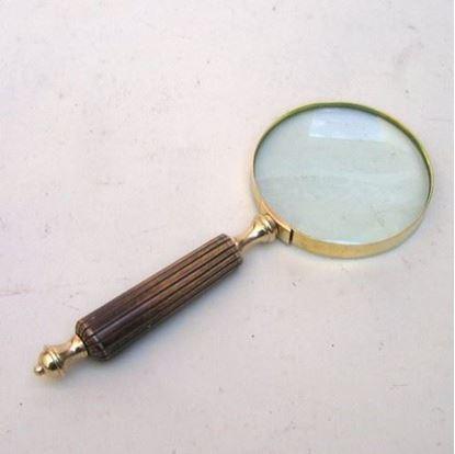 Handheld Magnifying Glass Bone Handle