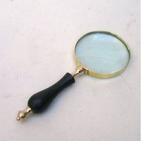 Handheld Magnifying Glass Horn Handle