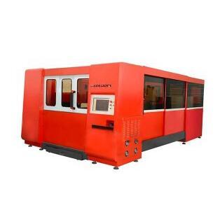 MK3015F-Totally enclosed Metal Fiber Laser Cutting Machine With Interexchange table