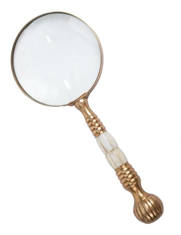 Magnifying Glass Mother Of Pearl