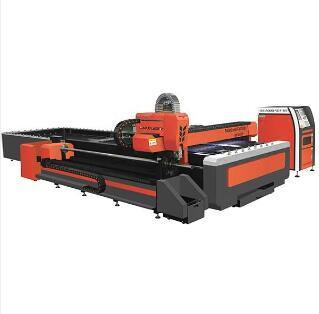 MK3015 Pipe &Plate fiber laser cutting machine with interchange platform
