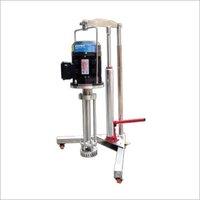 Manual Hydraulic Lifting High Shear Dispersing Emulsifier