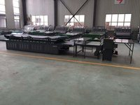 Corrugated Paperboard Manual Flute Laminator Machine 0 - 40m/Min For Carton Box