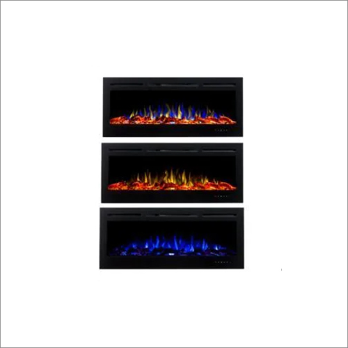 One Side Electric Fireplace Machine