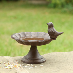Cottage Iron Bird Bath