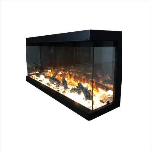 HK49 3 Side Electric Fireplace