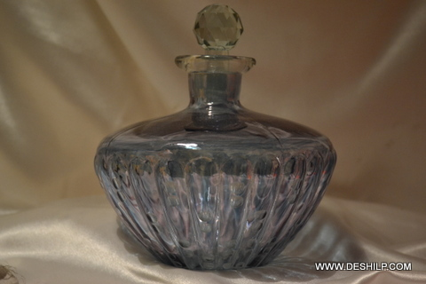 Antique-Style Glass Perfume Bottle