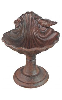 Antiquated Cast Iron Birds Bath