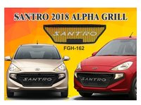 SANTRO 2018 ALPHA GRILL (BLACK/CHROME & BLACK/RED)
