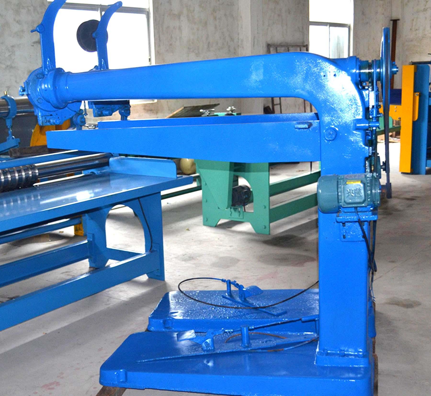 Customized Carton Box Stitching Machine , Manual Corrugated Box Stitching Machine