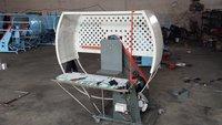 Corrugated Paper Box PE Tying Wrapping Machine Electric Driven Semi Auto Grade