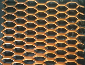 Hexagon Shaped Expanded Metals