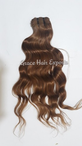 Chocolate Brown Indian Weave Hair