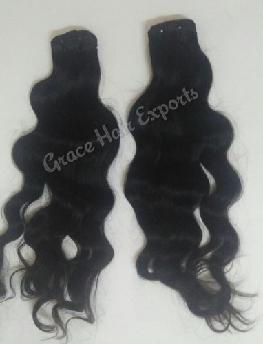 Deep Wavy Black Indian Hair