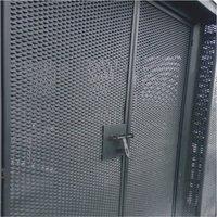 EXPANDED METAL DOORS