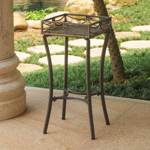 Steel Square Plant Stand