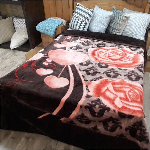 100%% Polyester Plain Emboss Mink Blankets