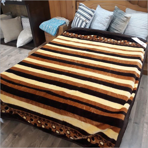 Skin Friendly Embossed Mink Blanket