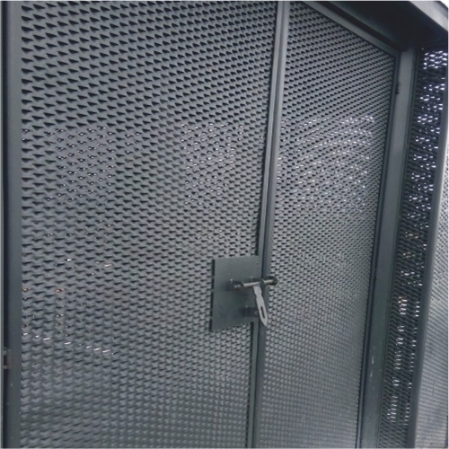 EXPANDED METAL GRILL DOORS