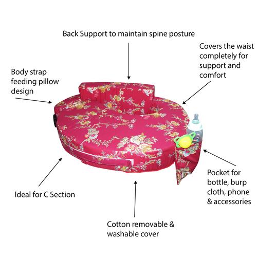 Adjustable Strap Baby Feeding Pillow