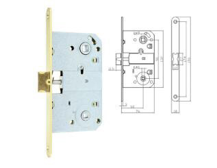 Lock body-MSD410B