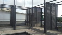 EXPANDED METAL SPACE DIVIDERS