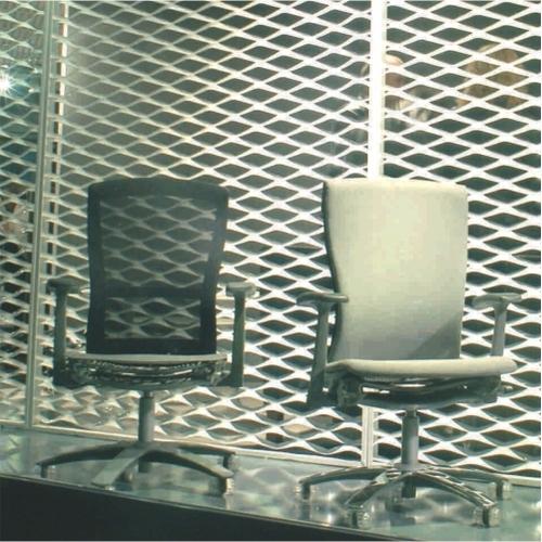 Expanded Metal Interior Decorative Screen