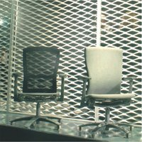 EXPANDED METAL INTERIOR DECORATIVE SCREEN