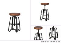 IRON ANTIQUE BAR STOOL