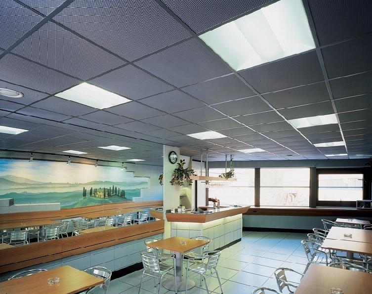 Expanded Metal False Ceilings