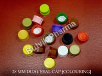28mm Plastic Dual Seal Cap